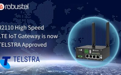 Robustel R2110 is Now Approved by Telstra